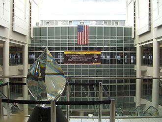 John Glenn Columbus International Airport - Entryway into John Glenn Airport