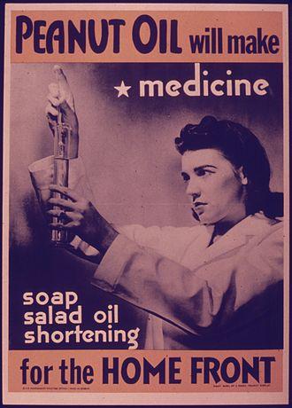 "Peanut oil - ""Peanut oil will make medicine"""