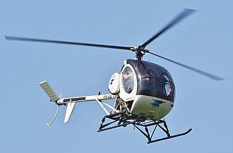 Schweizer 300 - A Schweizer 300C over Hilversum Airport