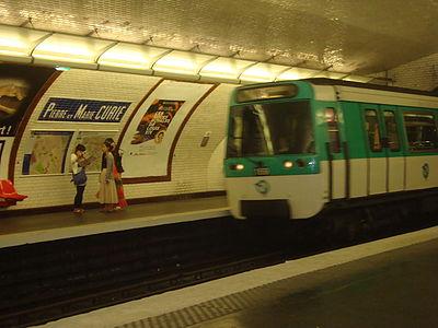 Pierre et Marie Curie (Paris Metro)