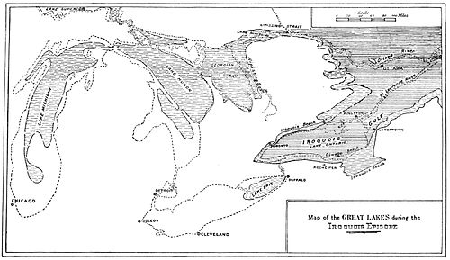 PSM V49 D184 Map of the early great lakes.jpg