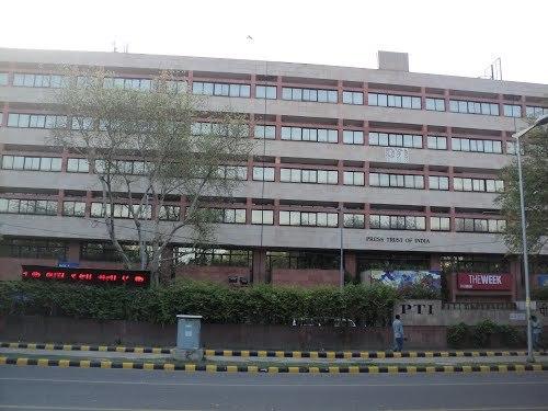 PTI building in New Delhi