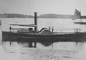 PS Herald - Image: Paddle Steamer Herald 1855 1884