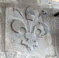 Palazzo d'Arnolfo, stemma giglio di firenze.jpg