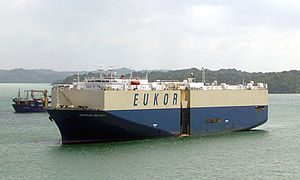 Panama Canal - Eukor Car Carrier.jpg