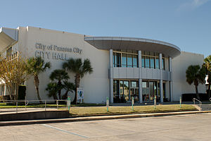 Panama City, Florida - Panama City's city hall in November 2013.