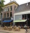 foto van Pand van drie traveeën breed (Café Kult)