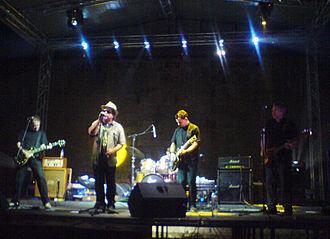 Pankrti - Pankrti performing at the 2009 Nisomnia festival.