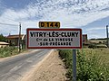 Panneau entrée Vitry Cluny Vineuse Fregande 1.jpg
