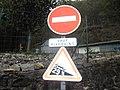 Panneau pente à 29 % à Bort-les-Orgues (Corrèze).jpg