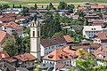 Panorama Zams, Kath. Pfarrkirche hl. Andreas mit freistehendem Turm-241.jpg