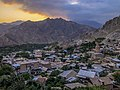 Panorama of Meghri - Holy Mother of God Church, Meghri (Mets Tagh).jpg