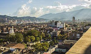 Itagüí - Image: Panoramica Itagüí
