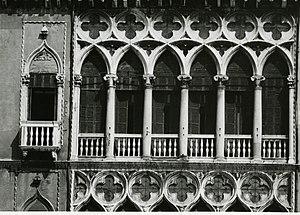 Palazzo Pisani Moretta - Details. Photo by Paolo Monti, 1969