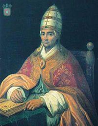 Portrait du pape Benoît XII.