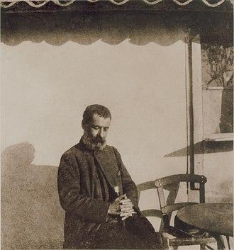 Alexandros Papadiamantis - Papadiamantis photographed by fellow Greek writer Pavlos Nirvanas, 1906
