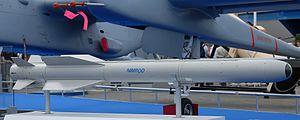 Nimrod (missile) - Nimrod missile in Paris Air Show