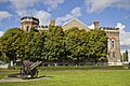 Park in front of Sgt William Merrifield Armoury on Brant Ave. in Brantford, Ontario - panoramio.jpg