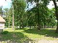 Park przy dworku w Dąbrowie wiosną.JPG