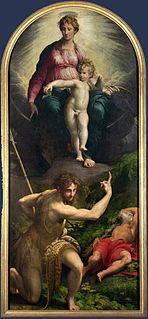 painting by Parmigianino