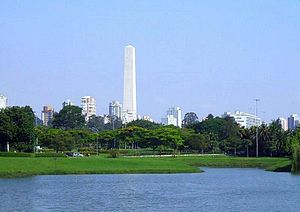 The Amazing Race: A Corrida Milionária - The race's Starting Line was at the Ibirapuera Park in São Paulo, Brazil.