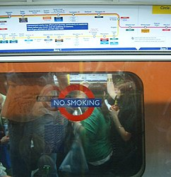 Party on the opposite direction on the Circle Line (2540702472).jpg