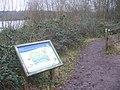 Path at Moor Green Lakes - geograph.org.uk - 2238125.jpg