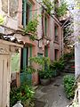 Path with small flats in Lyon 2.jpg
