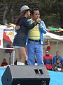 Patricia Javier performing at 14th AF-AFC 29.JPG