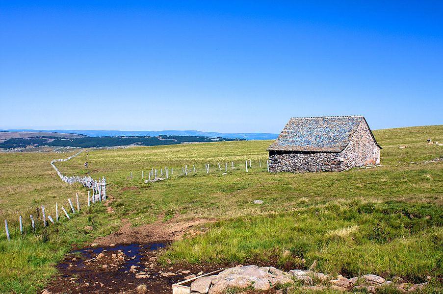Landscape of Aubrac