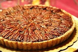 Pecan pie - Image: Pecan pie, November 2010