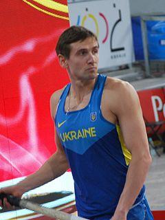 Oleksandr Korchmid Ukrainian pole vaulter