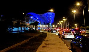 Penang International Airport - Penang International Airport at night