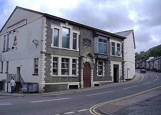 Penygraig Human settlement in Wales