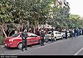 People gathering outside the Jam Hospital following the death of Mohammad-Reza Shajarian 2020-10-08 36.jpg