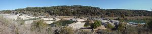 Pedernales Falls State Park - Image: Perdenales Falls Panoramic