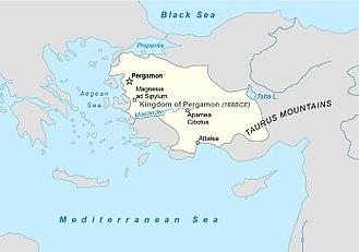 Attalid dynasty - Image: Pergamon 188BCE