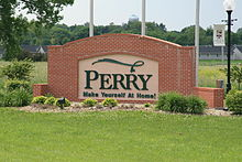 Perry Iowa 20090607 Sign.JPG