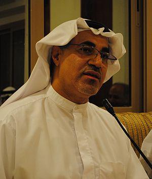 Mohammed al-Tajer - Mohammed al-Tajer in September 2012