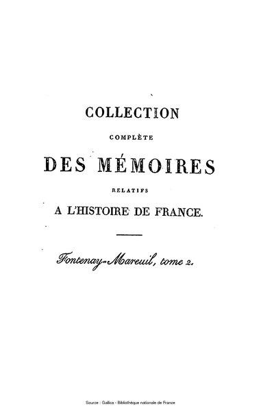 File:Petitot - Collection complète des mémoires relatifs à l'histoire de France, 1re série, tome 51.djvu