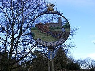 Pettistree village in the United Kingdom