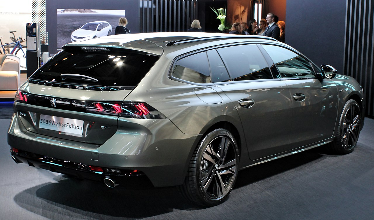 File Peugeot 508 Sw First Edition  Paris Motor Show 2018
