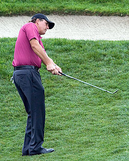Phil Mickelson American golfer