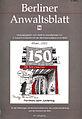 Philipp Heinisch, 150 Jahre Juristentag, 2010, kolorierte Federzeichnung, 30x20, Titelblatt Berliner Anwaltsblatt vom August 2010.jpg