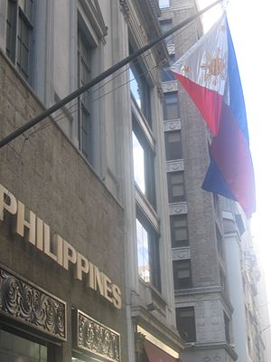 Filipinos in the New York metropolitan area - Philippine Center in Manhattan.