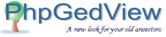 PhpGedView - Image: Php Ged View logo