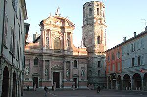 San Prospero, Reggio Emilia - church and belltower