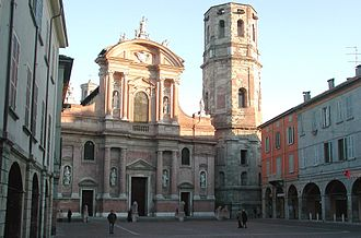 San Prospero, Reggio Emilia - church and belltower