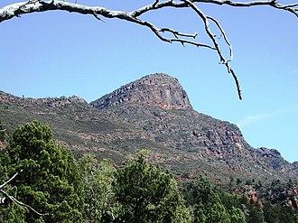 St Mary Peak - Image: Pic Sainte Marie