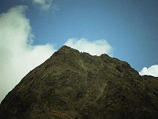 Pic de Sotllo mountain in France
